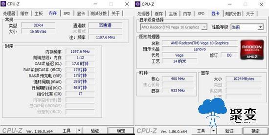 双通道16G内存与Radeon Vega10 GPU天生一对